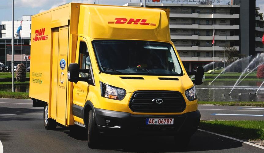 Ford и DHL создали новый почтовый электрофургон на базе Transit