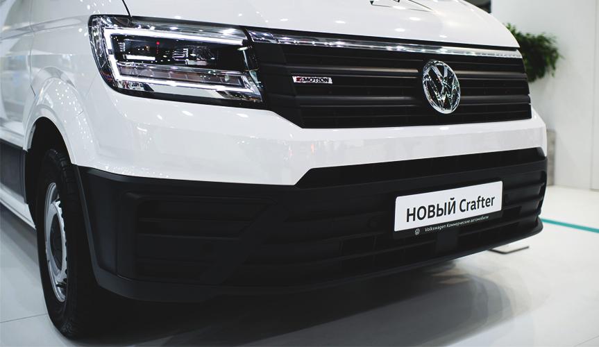 Новый Volkswagen Crafter – лучший коммерческий автомобиль года в России