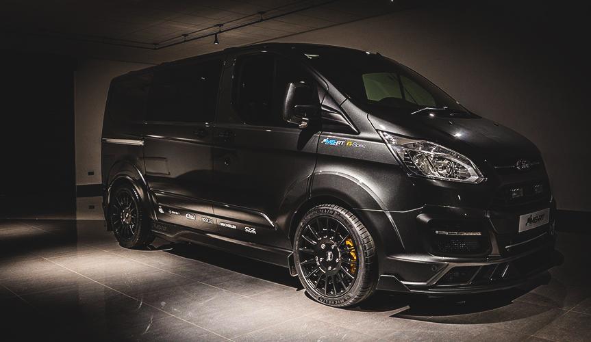 Британская компания MS-RT подготовила спецверсию фургона Ford Transit Customm