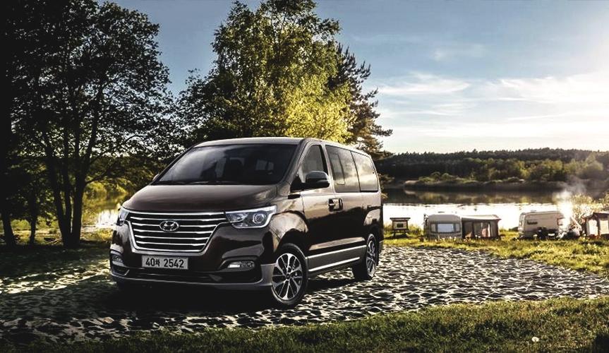 Hyundai представил обновлённый минивэн Grand Starex
