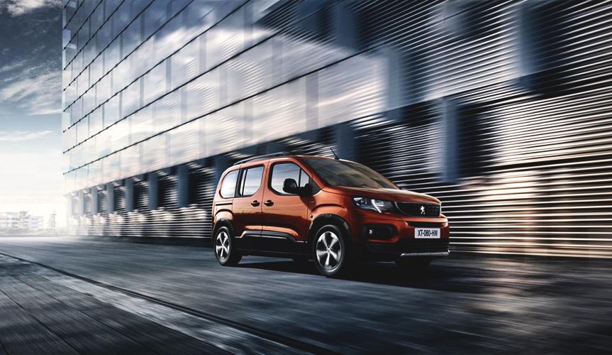 Peugeot Rifter 2018 – фото и характеристики преемника Peugeot Partner