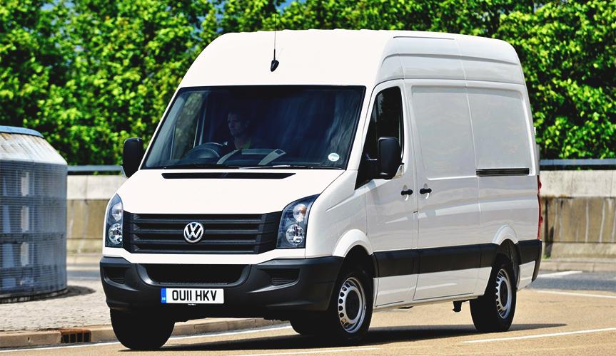 Компания Volkswagen объявила об отзыве 371 фургона Crafter в России