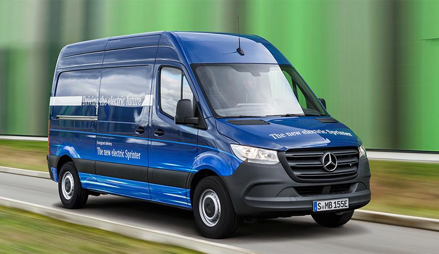 В компании Mercedes-Benz раскрыли подробности о новом электрофургоне Sprinter