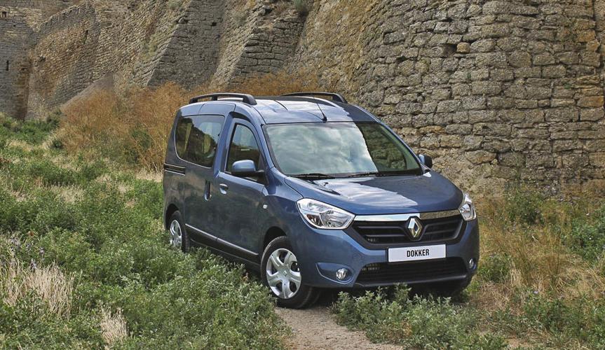 Renault DOKKER победил в номинации «Легкий коммерческий автомобиль / пикап»