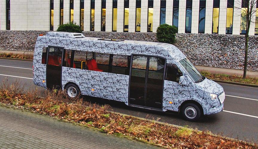 Компания Mercedes-Benz готовится к выпуску нового микроавтобуса Sprinter
