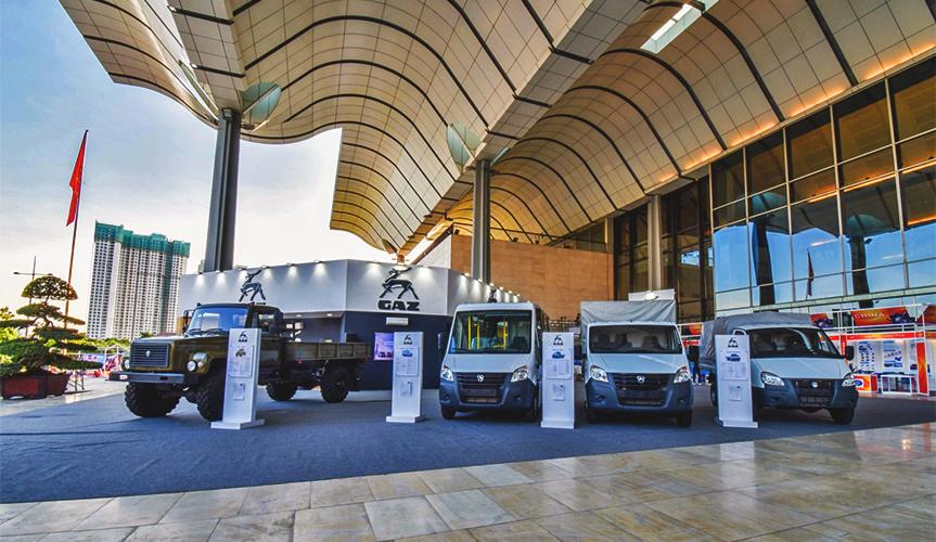ГАЗ представил широкую линейку коммерческой техники на выставке во Вьетнаме