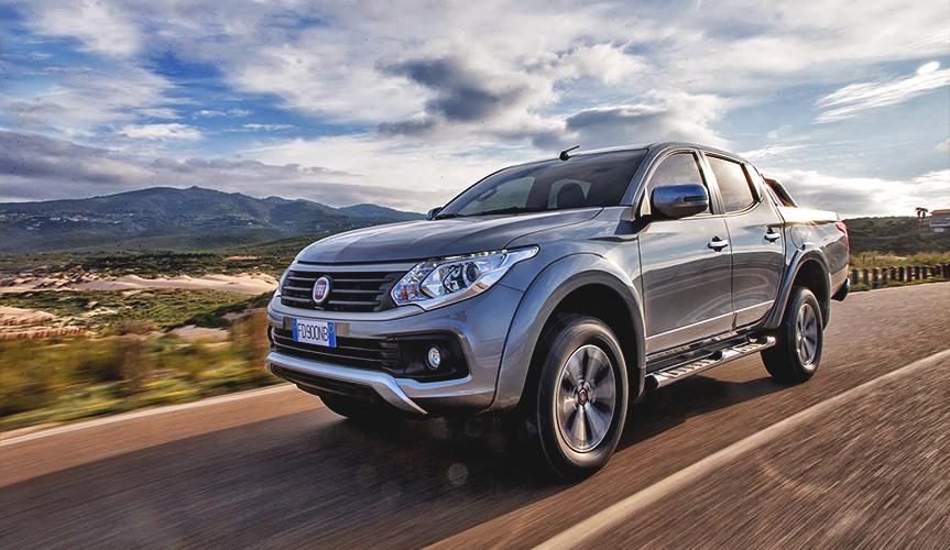Пикап Fiat Fullback подорожал на 16 - 23 тыс. рублей