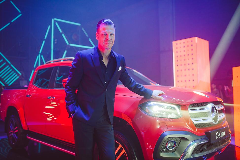 Самая ожидаемая премьера премиального пикапа Mercedes-Benz X-Класса