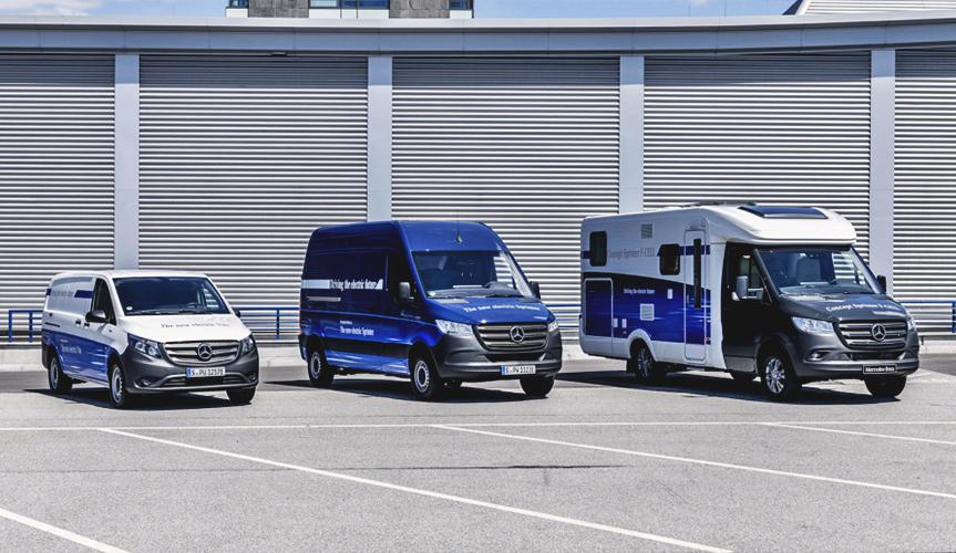 Подразделение Mercedes-Benz Vans подготовило ряд новинок