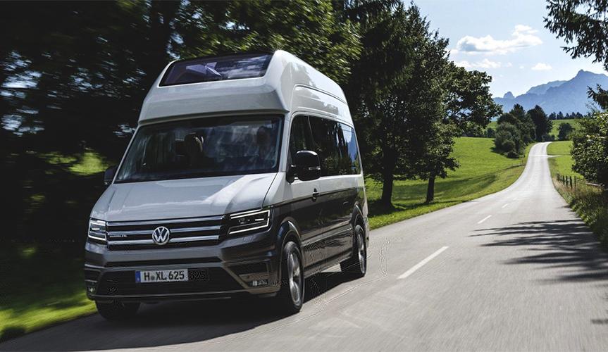 Volkswagen запустил в серию самый большой дом на колёсах