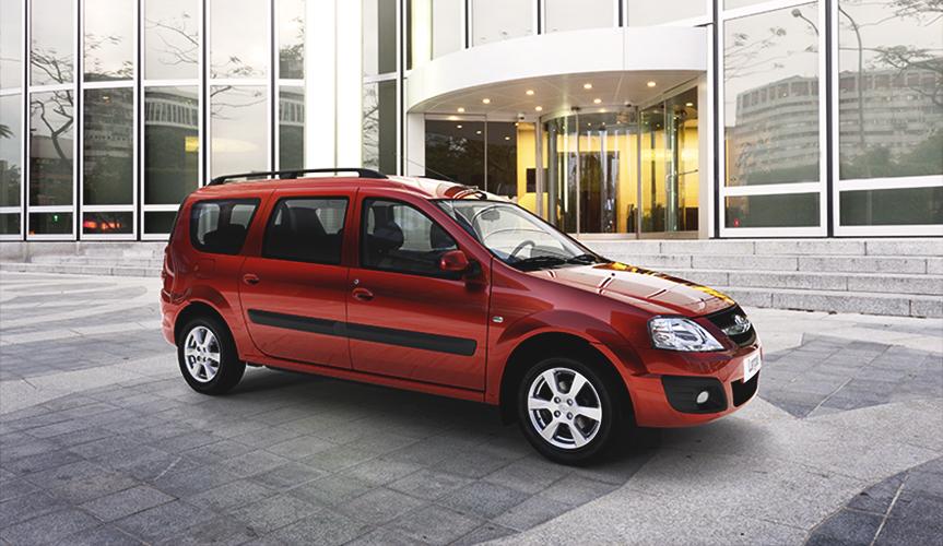 Продажи фургона LADA Largus увеличились за 1 полугодие 2018 года