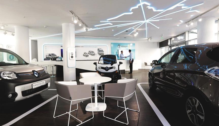 Renault расширяет сеть дилерских центров по обслуживанию электромобилей