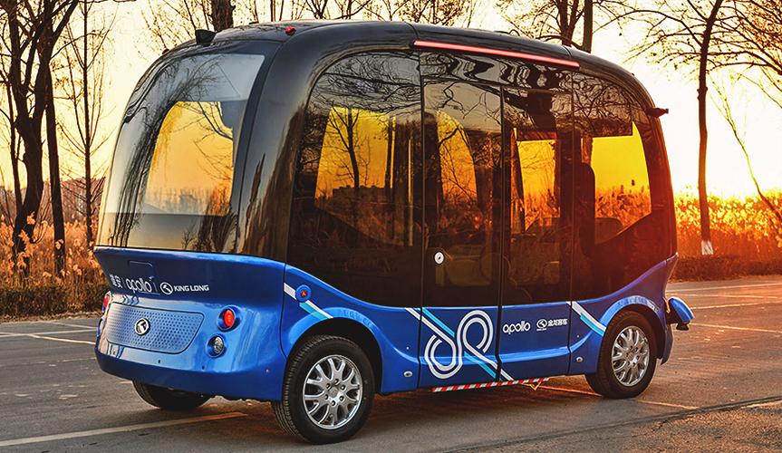 Китайский аналог Google запустит беспилотные автобусы в Японии