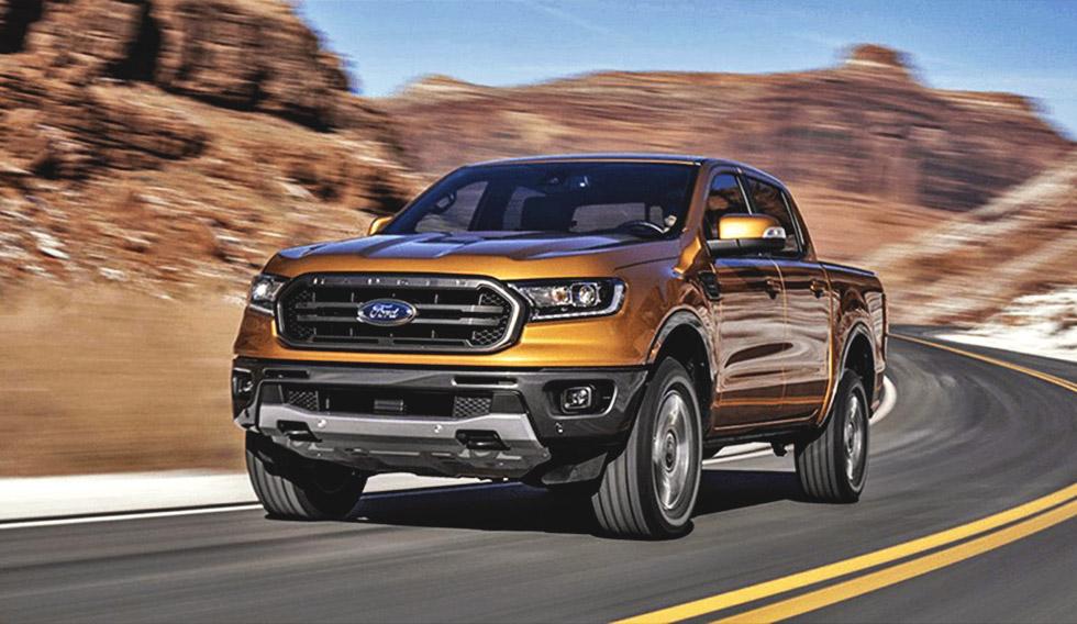 Ford Ranger 2019 года получит систему мониторинга «слепых» зон