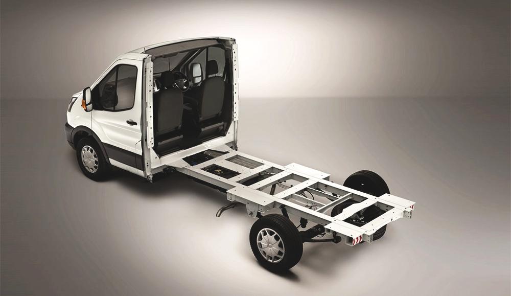 Ford разработал новую платформу на базе Transit