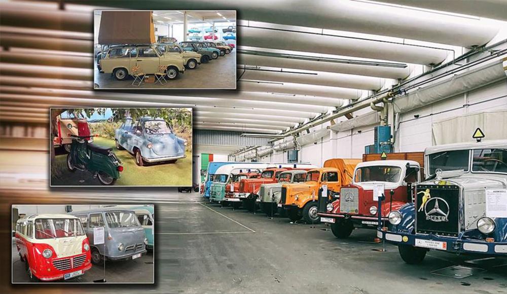 Музей PS. Speicher: огромная коллекция старинных автомобилей