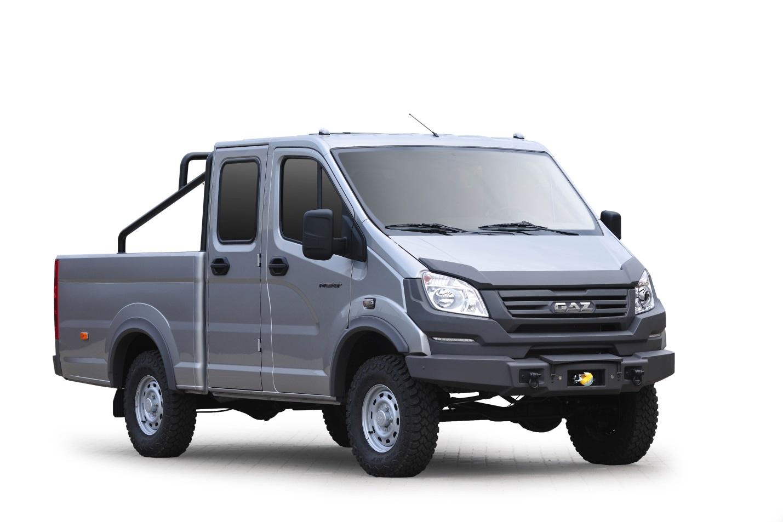 Группа ГАЗ представляет новый пикап и микроавтобус на базе «Соболь 4х4»