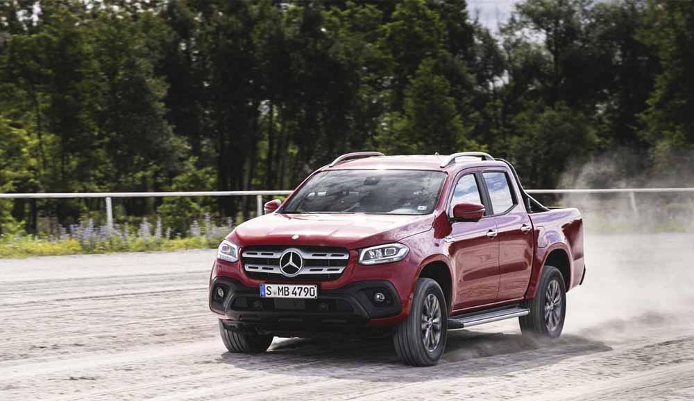 Mercedes-Benz X-Класс с двигателем V6 и полным приводом появится у российских дилеров с сентября 2018