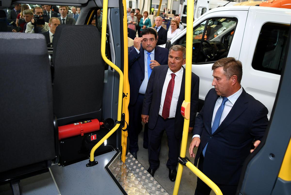 Cертифицированный партнер «СТ Алабуга» наладит производство Ford Transit на территории ОЭЗ «Алабуга»