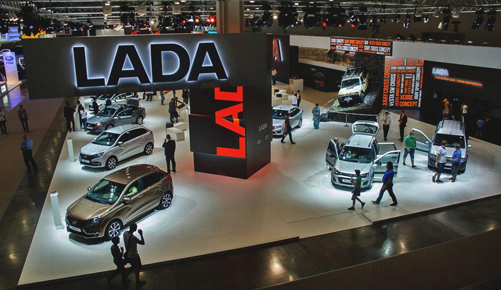 Компания LADA - онлайн-трансляция с Московского международного автосалона 2018