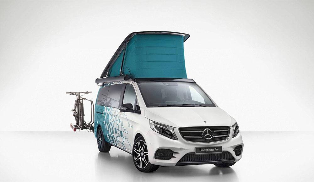 Mercedes-Benz представил новые дома на колёсах на выставке в Дюссельдорфе