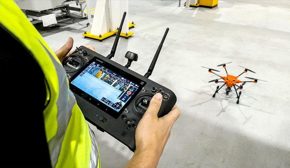 На заводе Ford в Великобритании начали использовать дроны с видеокамерами
