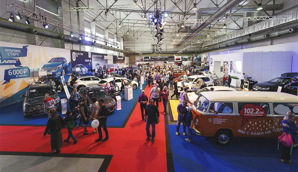 Сильнейшие дилеры региона готовятся удивлять горожан на автомобильной выставке в Красноярске