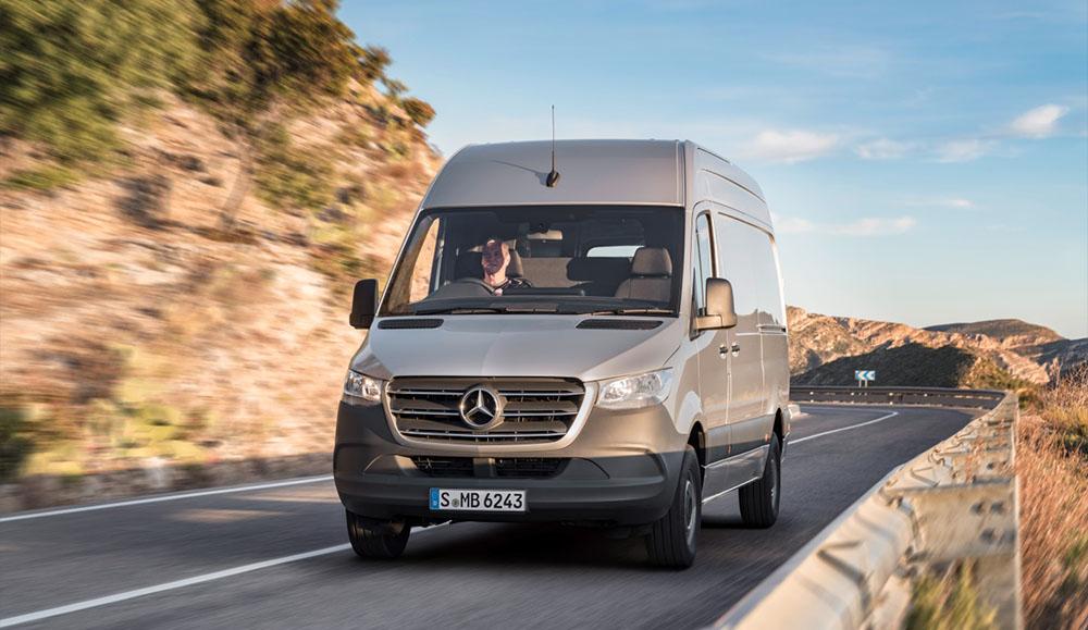 Обновлённый Mercedes-Benz Sprinter стал доступен для российских покупателей