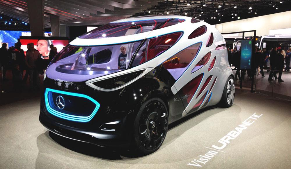 Mercedes-Benz представил футуристический концепт-кар на выставке IAA-2018