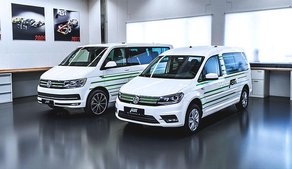 Электрофургоны e-Caddy и e-Transporter от тюнинг-ателье ABT Sportsline