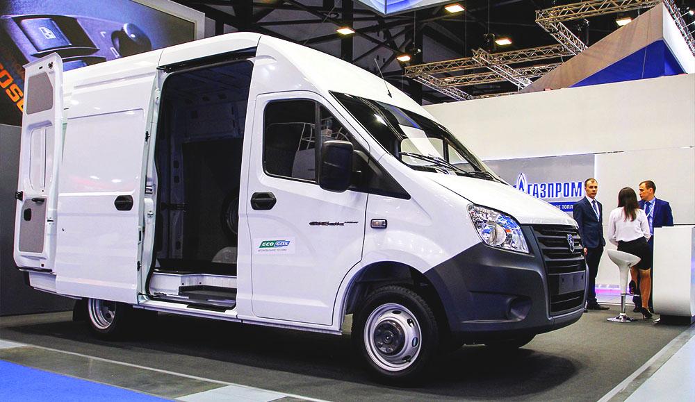 ГАЗ представляет новую модификацию «ГАЗель NEXT CNG»