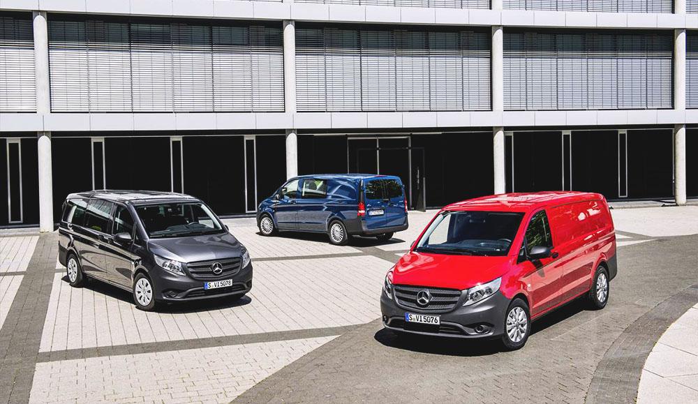 Компания Mercedes-Benz делает спецпредложение на автомобили LCV
