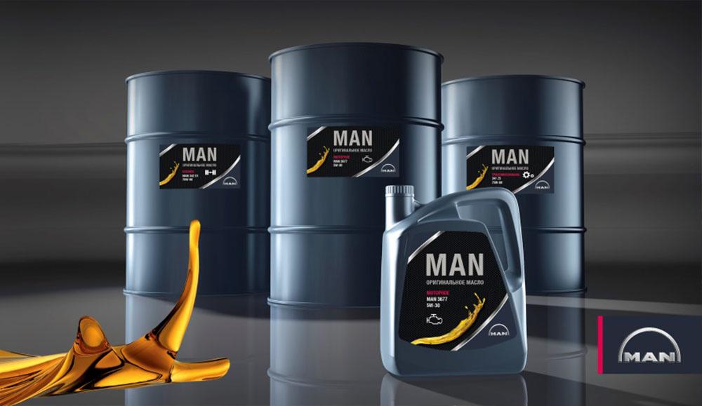 MAN выпустил новые моторные масла для коммерческой техники