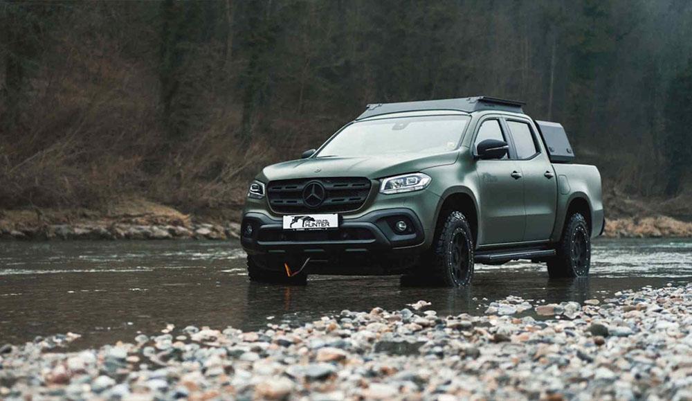 Пикап Mercedes-Benz X-Class для настоящих охотников