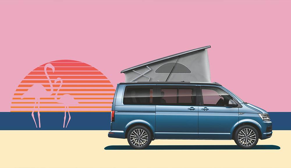 Представлена юбилейная спецверсия легендарного кемпера Volkswagen California