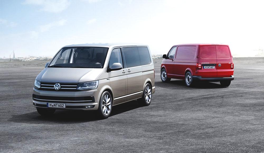 Продажи лёгких коммерческих автомобилей марки Volkswagen в мире
