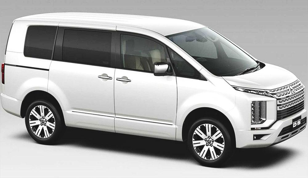Вышло новое поколение минивэна Mitsubishi Delica