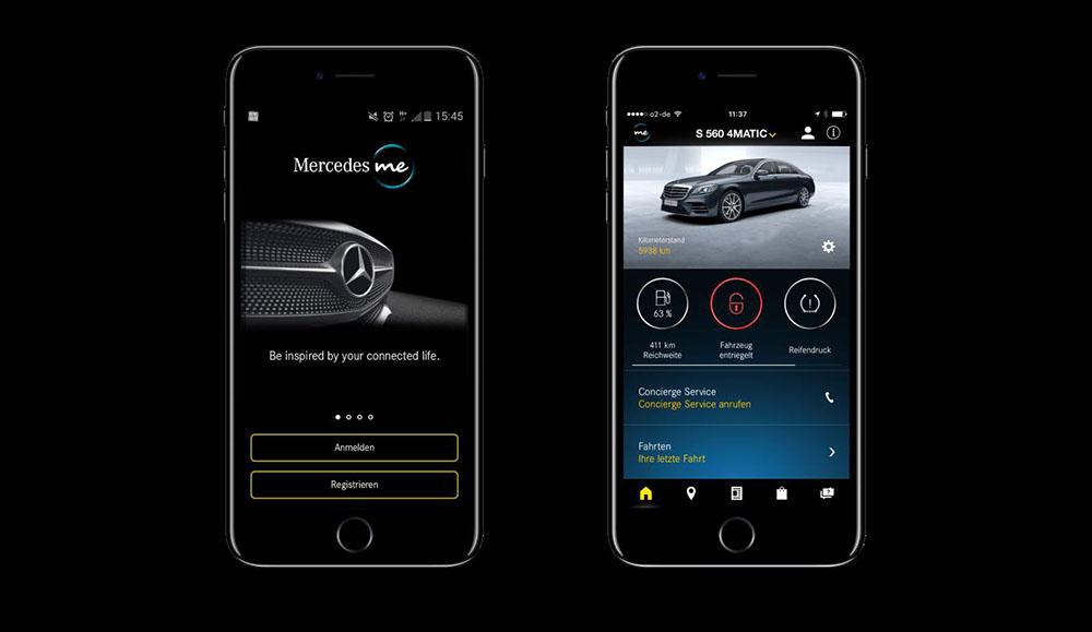 Mercedes-Benz разработал новый сервис «Mercedes me сonnect»