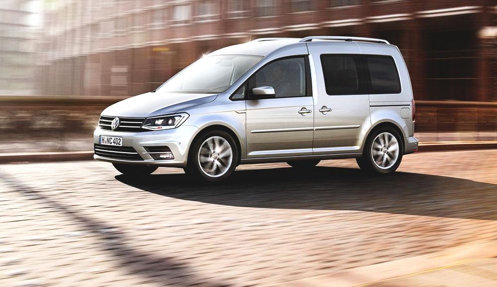 Volkswagen Caddy будет оснащаться новым бензиновыми двигателями для российского рынка
