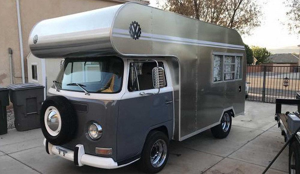 Кемпер VW Bus с мотором от Subaru продаётся за $40 000