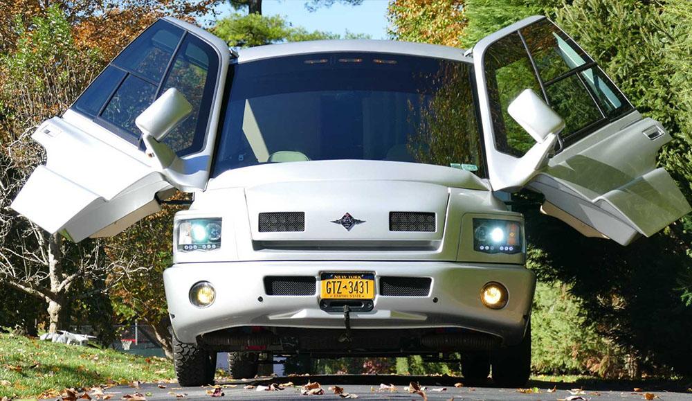На аукционе был продан раритетный дом на колёсах Mauck Custom RV