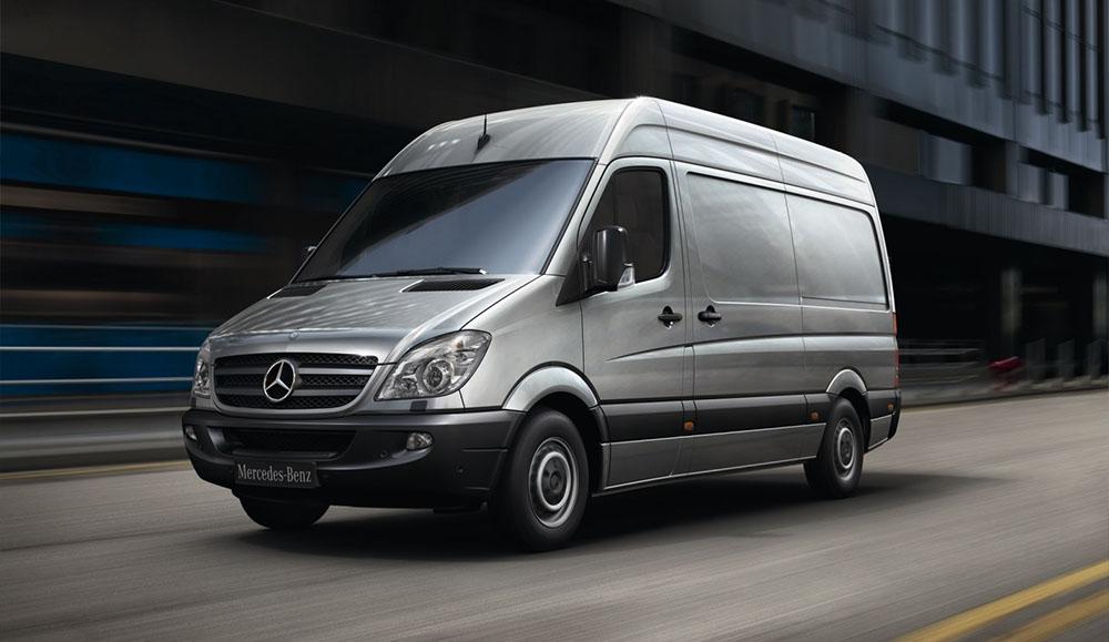 Продажи легких коммерческих автомобилей марки Mercedes-Benz в России за 2018 год
