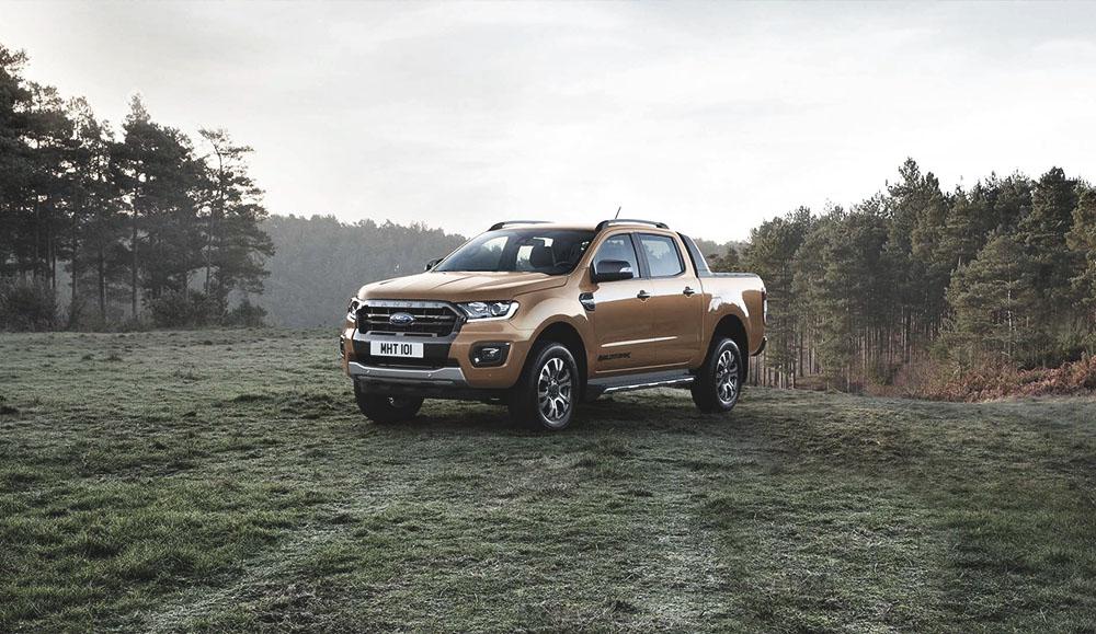 Обновленный Ford Ranger демонстрирует свою тяговую мощность