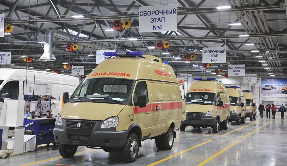 ПКФ «Луидор» открыла производственный цех по переоборудованию автомобилей спецназначения