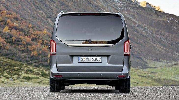 Обновленный Mercedes-Benz V-Class появится в России летом