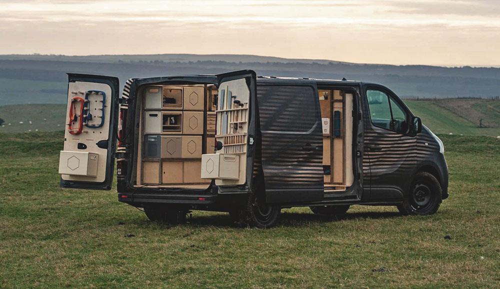 Nissan представил мобильную мастерскую на базе фургона NV300