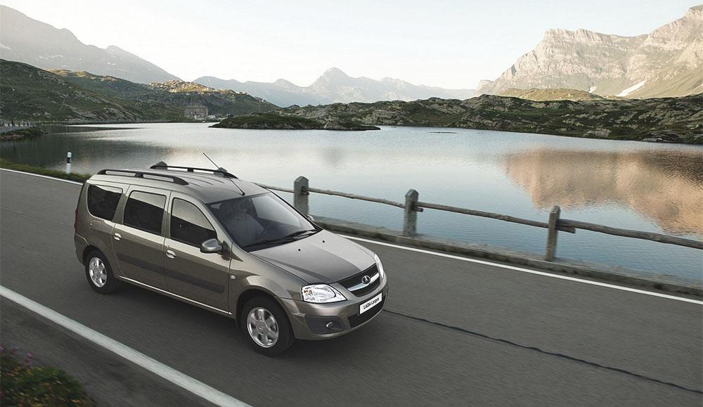 Статистика продаж автомобилей LADA Largus в январе в России