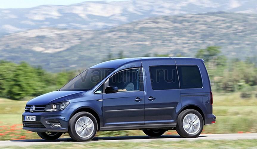 Volkswagen Caddy теперь «газовый»