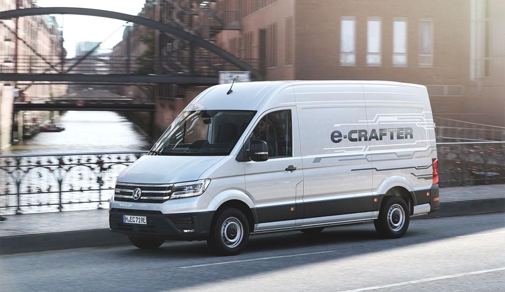 Будущее уже здесь: грузовой электромобиль e-Crafter марки Volkswagen Коммерческие автомобили