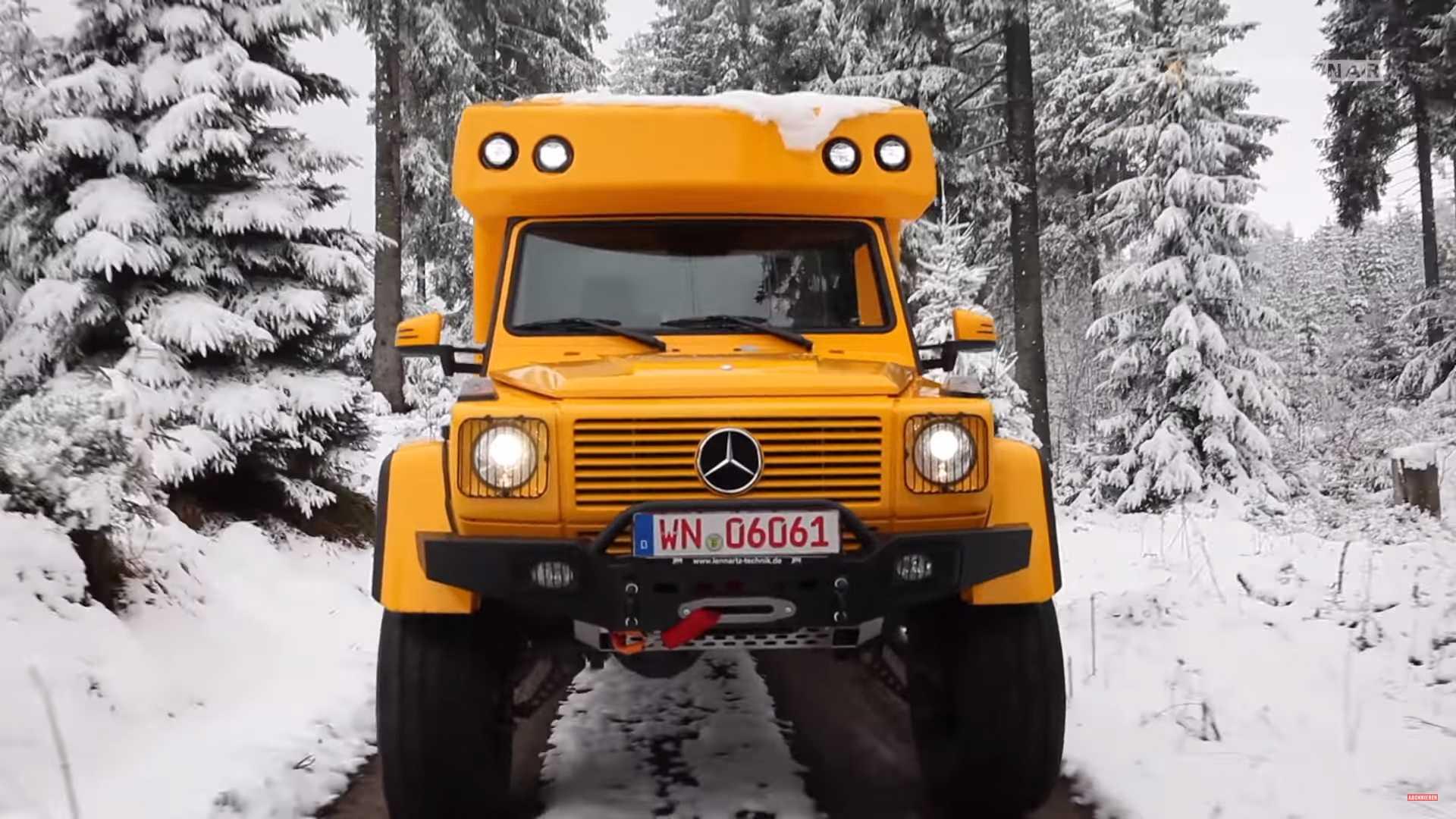 Mercedes G-Class – кемпер, способный покорить бездорожье